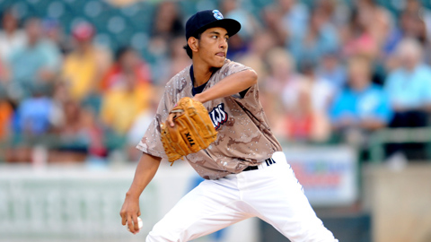 Severino Gonzalez - Picture by David M. Scholfield/Lakewood BlueClaws