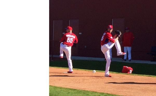 Hamels on 7 mounds