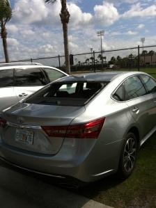 Car in Doug Mansolino's spot